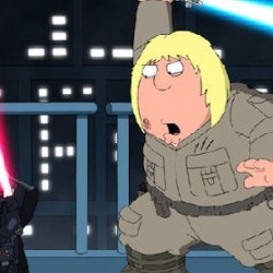 It Took Some Persuasion For Lucas To Sign Off On New FAMILY GUY Spoof