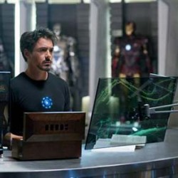 First Official Iron Man 2 Photo and Paltrow get's naughty