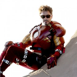 Tony Stark Suits Up