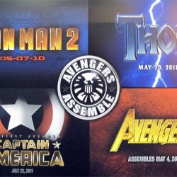 'Thor', 'Captain America', 'Iron Man 2' & 'Avengers' Movie Logos Debut!