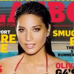 Playboy Cover Girl 'Olivia Munn'