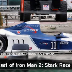 Spy Shots Of Tony Stark's Grand Prix Car!