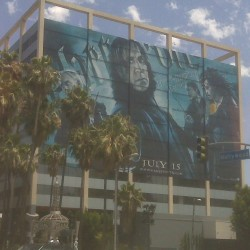 Giant 'Half-Blood Prince' Banner in Hollywood