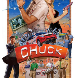 Unveiling Of New Chuck Poster Art At Comic Con
