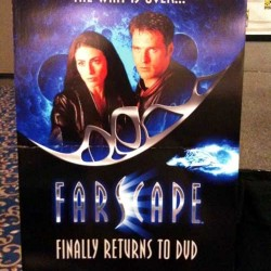 Farscape Panel At Comic-Con '09- 10th Anniversary, MegaSet DVD, And Guiness Book Award