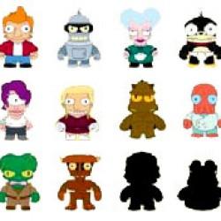 Futurama Gets Adorable: New Mini-Figures From KidRobot