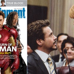 First Look: Justin Hammer & Rhodey In Iron Man 2