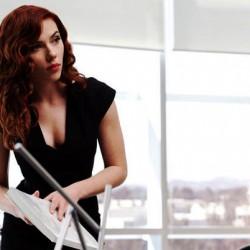 NEW Picture of Natasha Romanoff in Iron Man 2