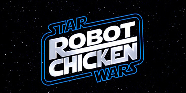 Star Wars Logo. Chicken: Star Wars Episode