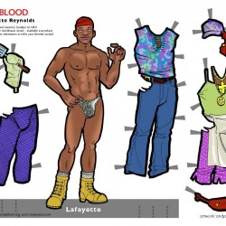 True Blood Makes Me Play With Paper Dolls