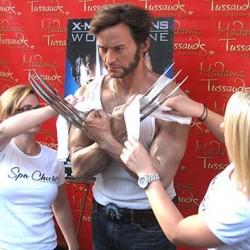 Hugh Jackman's Wolverine Immortalized… In Wax!