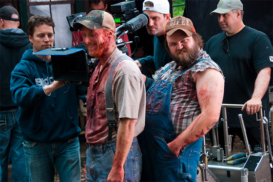 Tucker and dale vs evil redband trailer and set pics
