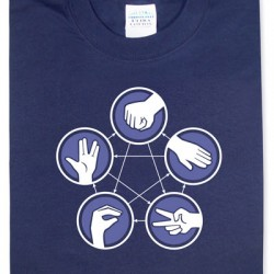 SCIFI MAFIA CHRISTMAS LOOT: Day Eight – Throw Rock, Paper, Scissors, Lizard, or Spock!