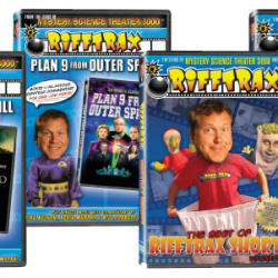 SCIFI MAFIA CHRISTMAS LOOT: Day Seventeen – Heckle With The Best, RIFFTRAX Gift Set