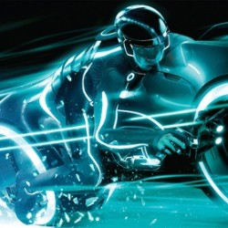 Grab Your Light Cycle And Check Out This TRON Legacy Billboard Art