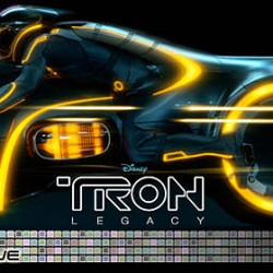 Ready To Race: NEW TRON LEGACY Lightcycle Poster