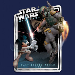 Star Wars Weekends 2010 Artwork Unleashed – Put Jedi Mickey In The Cargo Hold