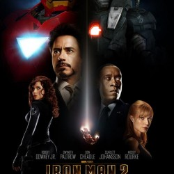 NEW IRON MAN 2 Domestic Movie Poster And WonderCon Black Widow Character Poster