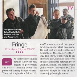 See The Pattern: Fox Offers FRINGE 101 For The Uninitiated And Refresher Course For Fans