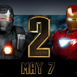 New IRON MAN 2 Posters, Theater Standees And Production Photo