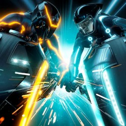 TRON LEGACY: Disney Monorails, Billboards And High-Res Images Galore