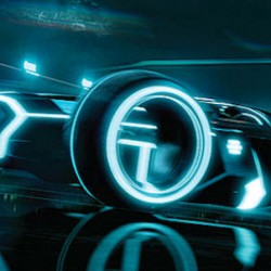 NEW TRON LEGACY Billboard Features A Cool 4 Wheeled Vehicle