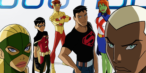 Based on the 1998 DC comic, Young Justice features Robin, Superboy,