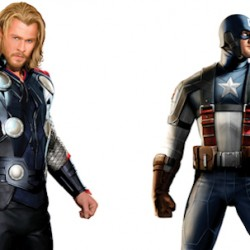 Captain America And THOR: First Look At The Full Costumes