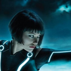 TRON LEGACY: New Billboard Image Featuring Olivia Wilde As Quorra