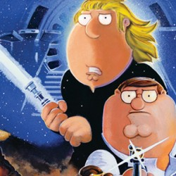 Gasp! IT'S A TRAP! FAMILY GUY Completes Final Installment Of STAR WARS Satire