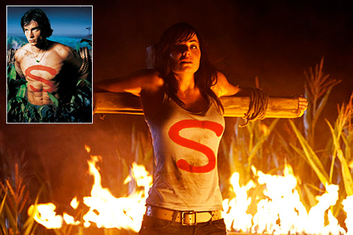 SMALLVILLE Spoiler Lois Lane Is Strung Up To Burn