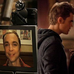 THE BIG BANG THEORY and THE VAMPIRE DIARIES: Robot Proxies and Doppelgangers