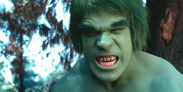 Incredible Hulk Lou Ferrigno Wide