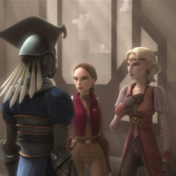 STAR WARS: THE CLONE WARS – A Sinister Plot On Mandalore Threatens Peace