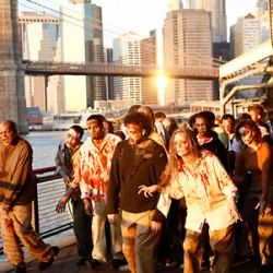 THE WALKING DEAD Invade! Zombies Attacked Major Cities Around The World