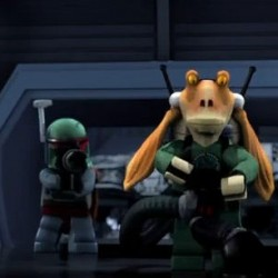 Cool New LEGO Star Wars Mini-Movie Features Boba Fett Hunting For Jar Jar