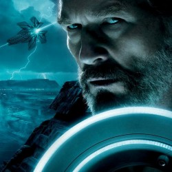 TRON: Legacy – Full Triptych Poster Plus Flynn and Clu Face Off