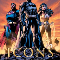 Book Review: Icons: The DC Comics and Wildstorm Art of Jim Lee