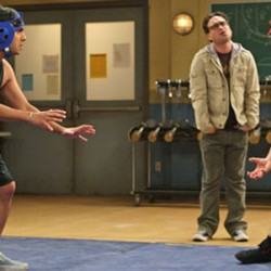 THE BIG BANG THEORY: Wrestling Is a Manly Sport… Unless You're Geeks