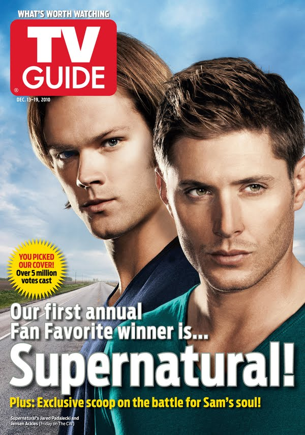 """Supernatural"" Claims Fan TV Guide Cover Supernatural-tv-guide-cover"