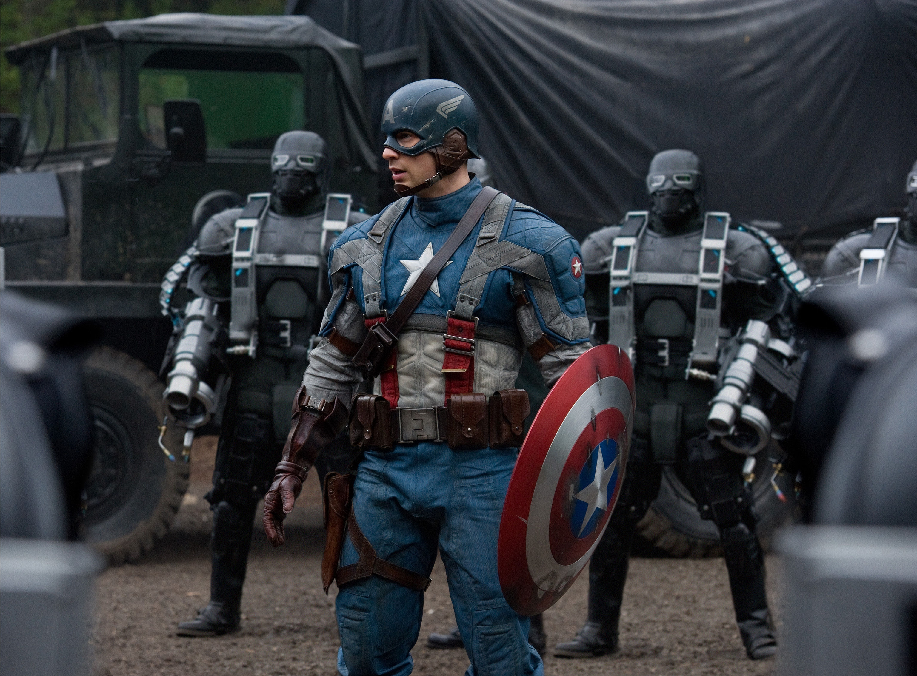 captain america new movie on New Captain America And Thor High Resolution Movie Images   Scifi
