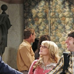 THE BIG BANG THEORY: Renewed For Three Years; Borrows Tall Drink of Water from Eliza Dushku