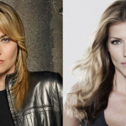 BSG Cylons Lucy Lawless and Tricia Helfer Invade NO ORDINARY FAMILY