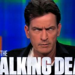 THE WALKING DEAD: Charlie Sheen Is A Zombie?