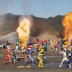 The Craziest Power Ranger Battle Ever