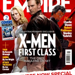 X-Men: First Class – Three New Mutant Emblazoned Empire Covers