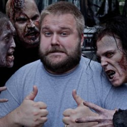 Stroll the Season 4 Set of THE WALKING DEAD With Creator Robert Kirkman