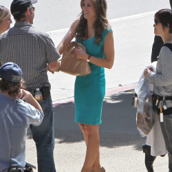 WONDER WOMAN: New Logo and Pics of Elizabeth Hurley From the Set Surface