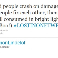Damon Lindelof Wraps Up LOST In 140 Or Less – #LostInOneTweet