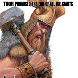 SciFi Mafia's Pic of the Day: Thor Vs. Jesus